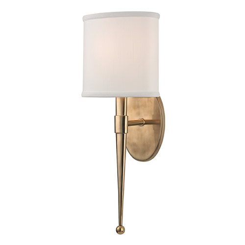 Hudson Valley Lighting Hudson Valley Lighting Madison Aged Brass Sconce 6120-AGB