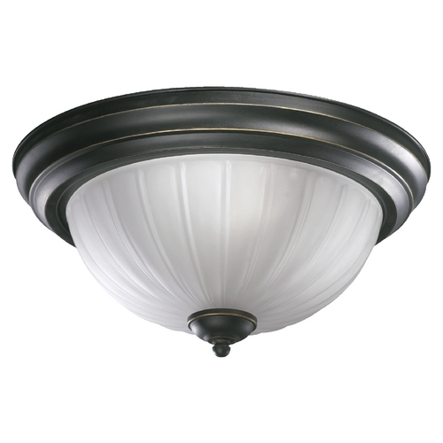 Quorum Lighting Quorum Lighting Old World Flushmount Light 3074-13-95