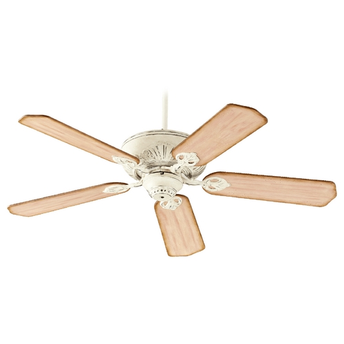 Quorum Lighting Quorum Lighting Chateaux Persian White Ceiling Fan Without Light 78525-70