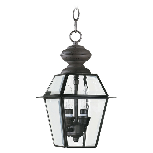 Quorum Lighting Quorum Lighting Duvall Bronze Outdoor Hanging Light 728-2-36
