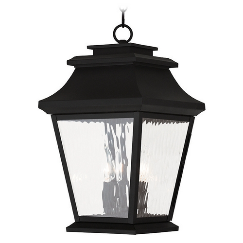 Livex Lighting Livex Lighting Hathaway Black Outdoor Hanging Light 20237-04