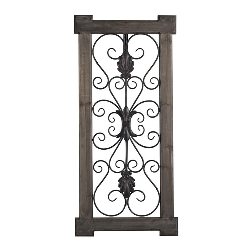 Sterling Lighting Hatfield-Rectangular Scroll Work Wall Panel 137-014