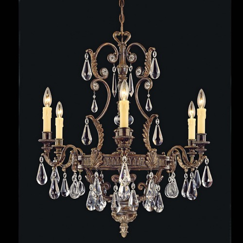 Savoy House Savoy House Moroccan Bronze Crystal Chandelier 1-6202-6-241