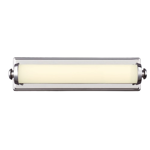 Feiss Lighting Edgebrook Polished Nickel LED Bathroom Light - Vertical or Horizontal Mounting WB1750PN