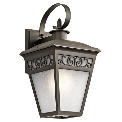 Kichler Lighting Kichler Lighting Park Row Olde Bronze Outdoor Wall Light 49612OZ
