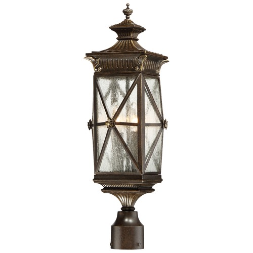 Minka Lavery Minka Rue Vieille Forged Bronze Post Light 9316-586