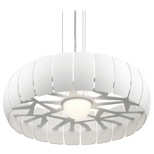 Elan Lighting Elan Lighting Osk White LED Pendant Light 83765