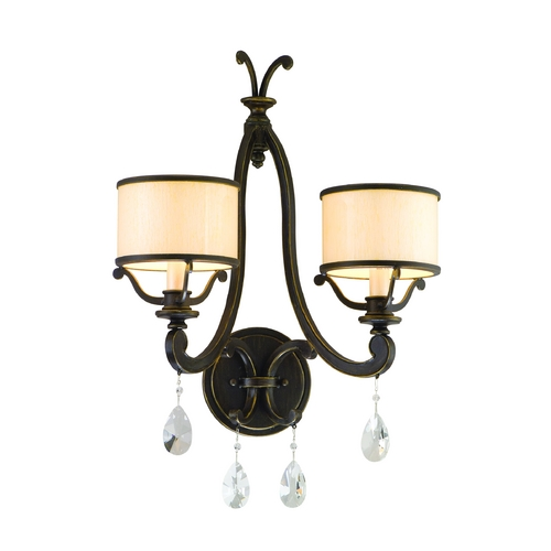 Corbett Lighting Corbett Lighting Roma Classic Bronze Sconce 86-12