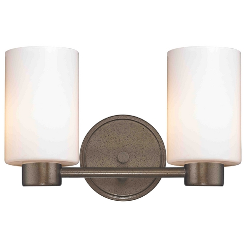 Design Classics Lighting Design Classics Lighting Aon Fuse Heirloom Bronze Bathroom Light 1802-62 GL1028C
