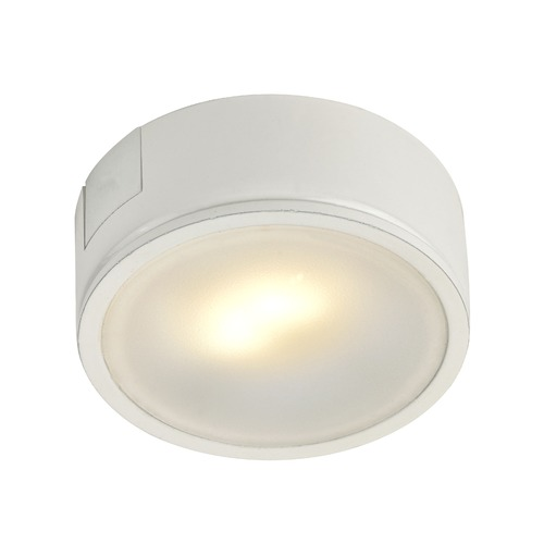 Recesso Lighting by Dolan Designs White Surface Mount LED Puck Light - 2700K LED UCPS-2700-WH