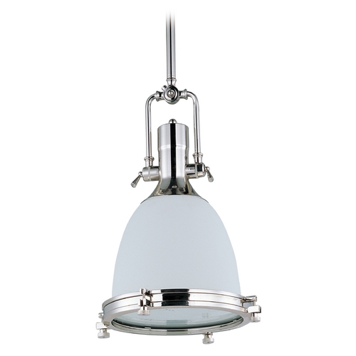 Maxim Lighting Maxim Lighting Hi-Bay Polished Nickel Pendant Light 25116SWPN