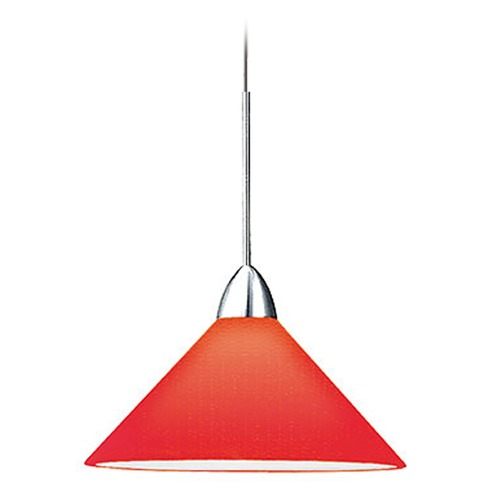 WAC Lighting WAC Lighting Contemporary Collection Chrome LED Track Pendant QP-LED512-RD/CH