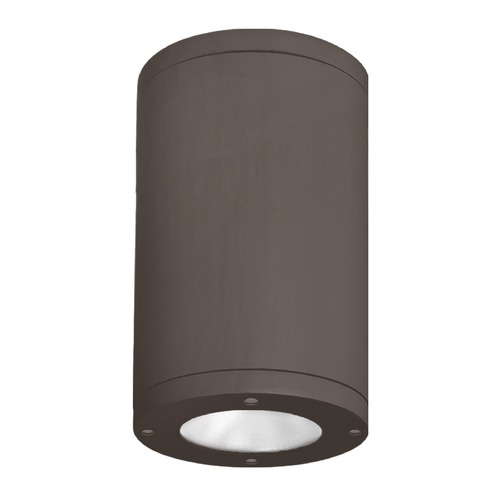 WAC Lighting 8-Inch Bronze LED Tube Architectural Flush Mount 3000K 3230LM DS-CD08-S930-BZ