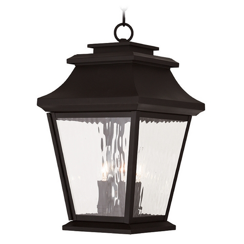 Livex Lighting Livex Lighting Hathaway Bronze Outdoor Hanging Light 20237-07