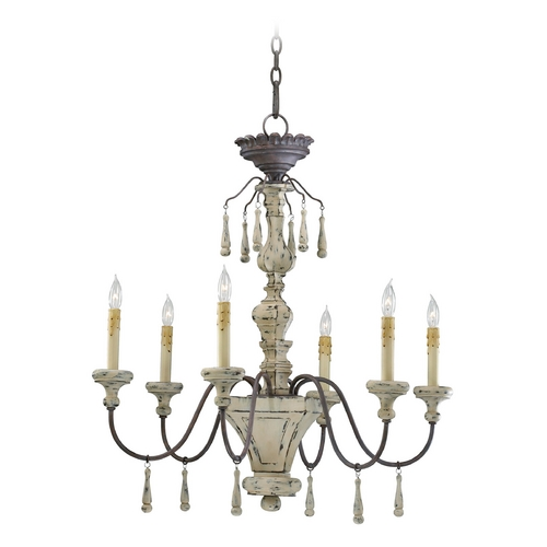 Cyan Design Cyan Design Provence Carriage House Chandelier 6513-6-43