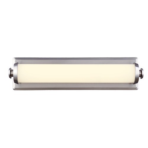 Feiss Lighting Edgebrook Satin Nickel LED Bathroom Light - Vertical or Horizontal Mounting WB1750SN