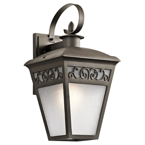 Kichler Lighting Kichler Lighting Park Row Olde Bronze Outdoor Wall Light 49613OZ
