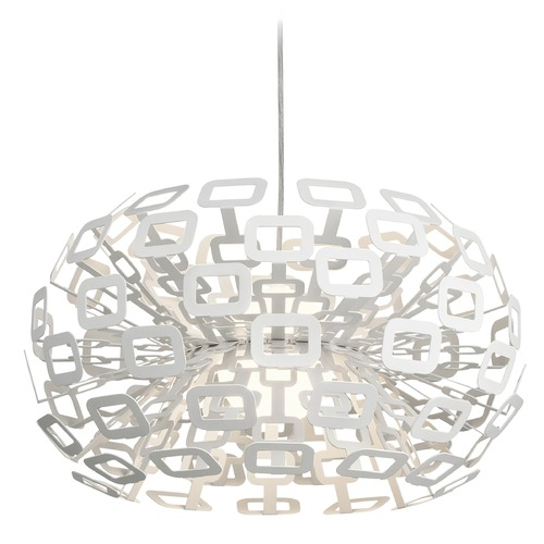 Elan Lighting Elan Lighting Quillo White LED Pendant Light 83766