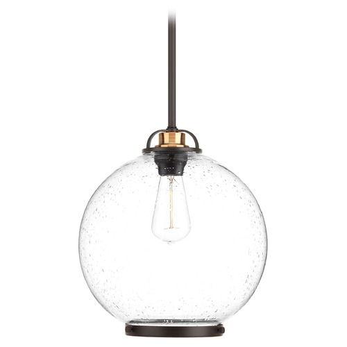 Progress Lighting Progress Lighting Chronicle Antique Bronze Pendant Light with Globe Shade P5311-20