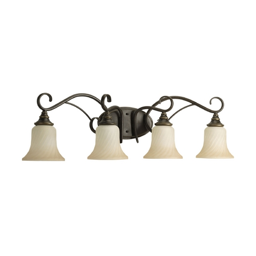 Progress Lighting Progress Bathroom Light in Forged Bronze Finish P2786-77