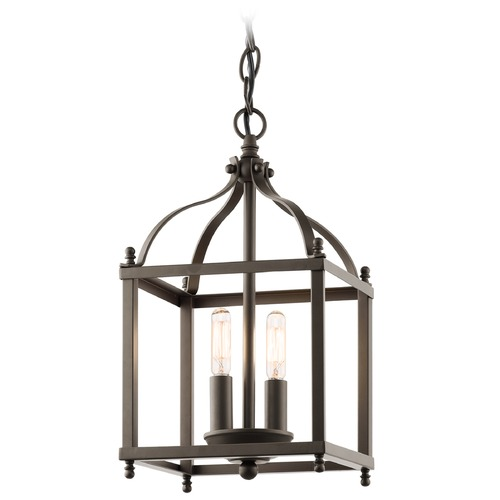 Kichler Lighting Kichler Mini-Pendant Light in Olde Bronze Finish 42565OZ