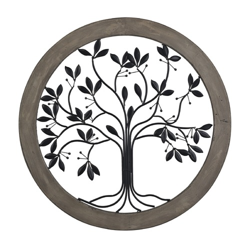 Sterling Lighting Rossington-Circular Wall Panel With Tree Of Life 137-016