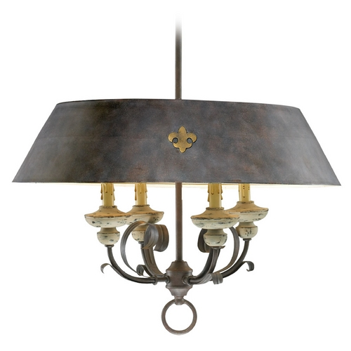 Cyan Design Cyan Design Provence Carriage House Pendant Light with Empire Shade 6514-4-43