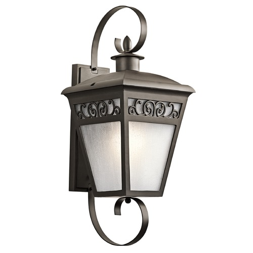 Kichler Lighting Kichler Lighting Park Row Olde Bronze Outdoor Wall Light 49614OZ