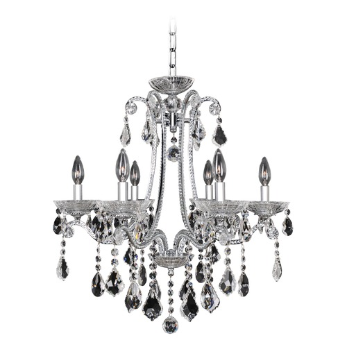 Allegri Lighting Ferrero 6 Light Crystal Chandelier 024150-010-FR001
