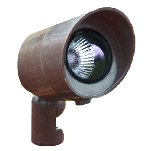 Dabmar Lighting Bronze Fiberglass Directional Spot Light with Hood FG132-BZ