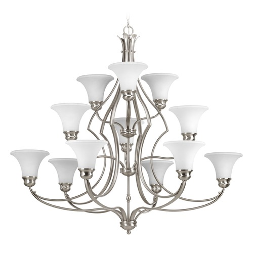Progress Lighting Progress Lighting Applause Brushed Nickel Chandelier P4654-09