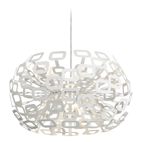 Elan Lighting Elan Lighting Quillo White LED Pendant Light 83767
