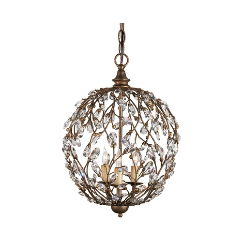 Currey and Company Lighting Pendant Light in Cupertino Finish 9652