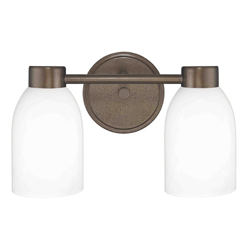 Design Classics Lighting Design Classics Aon Fuse Heirloom Bronze Bathroom Light 1802-62 GL1028D