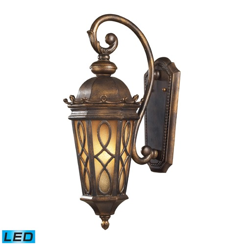 Elk Lighting Elk Lighting Burlington Junction Hazlenut Bronze LED Outdoor Wall Light 42001/2-LED