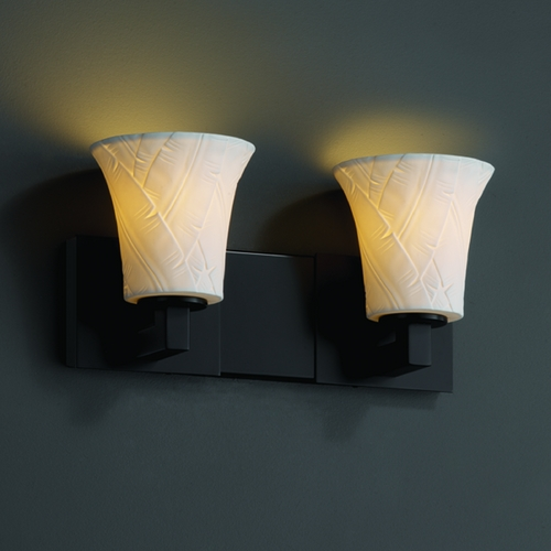 Justice Design Group Justice Design Group Limoges Collection Bathroom Light POR-8922-20-BANL-MBLK