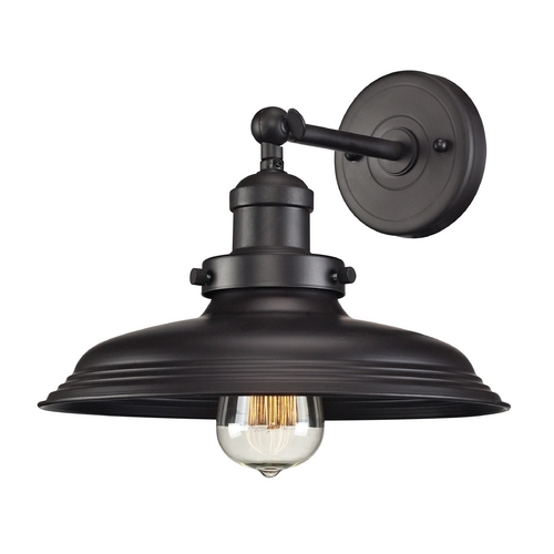 Elk Lighting Sconce Wall Light in Oil Rubbed Bronze Finish 55040/1