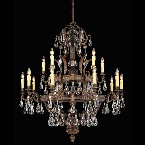 Savoy House Savoy House Moroccan Bronze Crystal Chandelier 1-6205-15-241