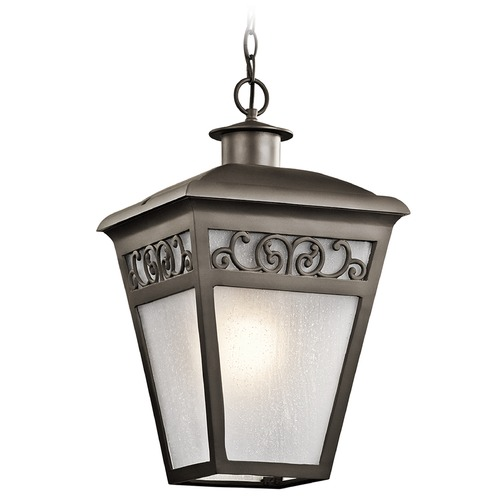 Kichler Lighting Kichler Lighting Park Row Olde Bronze Outdoor Hanging Light 49615OZ