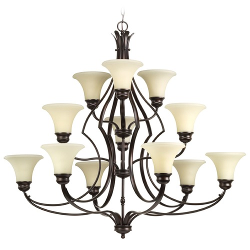 Progress Lighting Progress Lighting Applause Antique Bronze Chandelier P4654-20