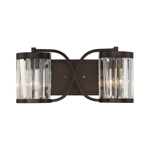 Savoy House Savoy House Lighting Nora Burnished Bronze Bathroom Light 8-4063-2-28