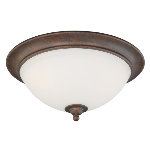 Vaxcel Lighting Hartford Weathered Patina Flushmount Light by Vaxcel Lighting C0095