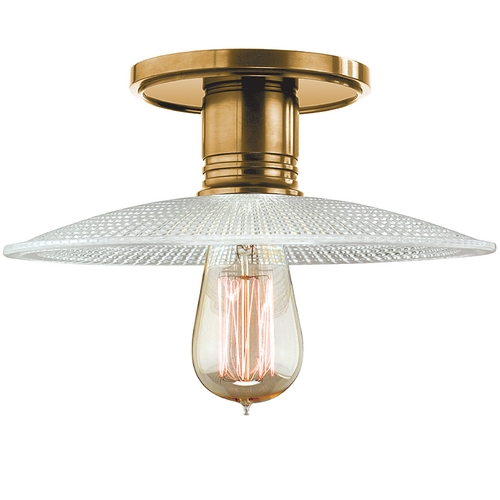 Hudson Valley Lighting Semi-Flushmount Light in Aged Brass Finish 8100-AGB-GS4