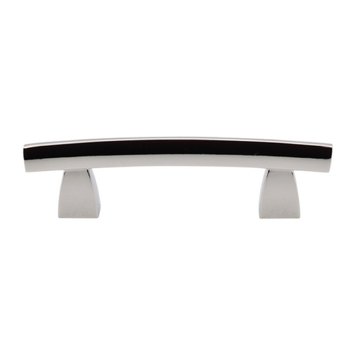 Top Knobs Hardware Modern Cabinet Pull in Polished Nickel Finish TK3PN