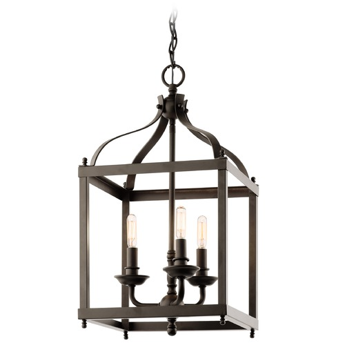 Kichler Lighting Kichler Pendant Light in Olde Bronze Finish 42566OZ