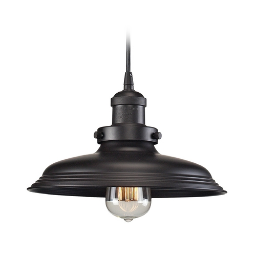 Elk Lighting Pendant Light in Oil Rubbed Bronze Finish 55041/1