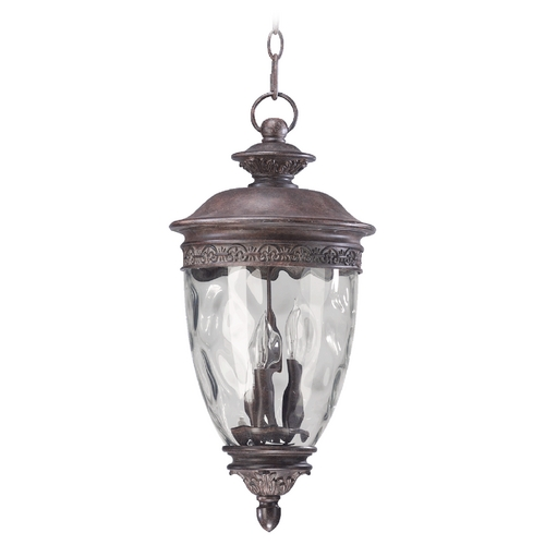 Quorum Lighting Quorum Lighting Georgia Etruscan Sienna Outdoor Hanging Light 7401-3-43