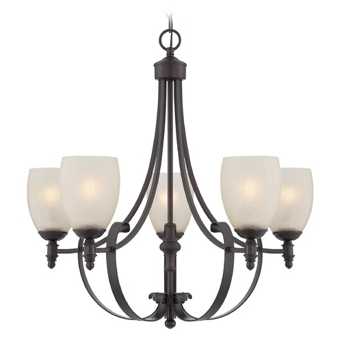 Savoy House Savoy House Lighting Duvall English Bronze Chandelier 1-621-5-13