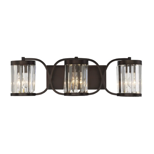 Savoy House Savoy House Lighting Nora Burnished Bronze Bathroom Light 8-4063-3-28