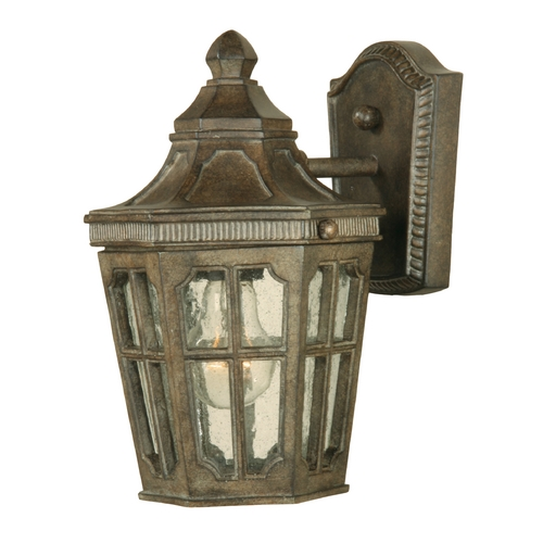 Maxim Lighting Outdoor Wall Light with Clear Glass in Sienna Finish 40152CDSE